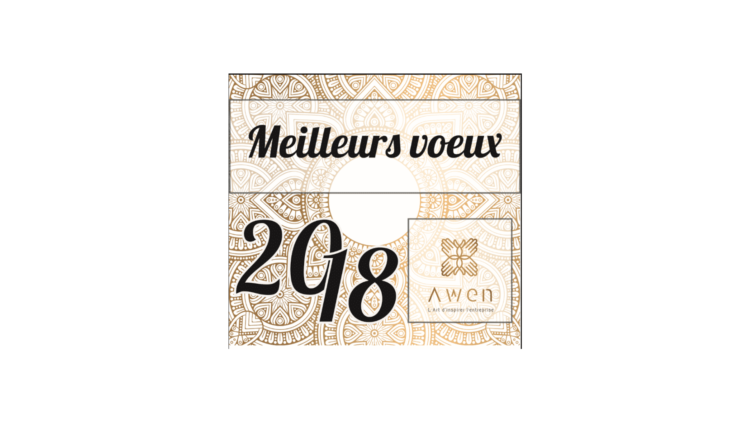 Meilleurs voeux 2018 - Awen Styles