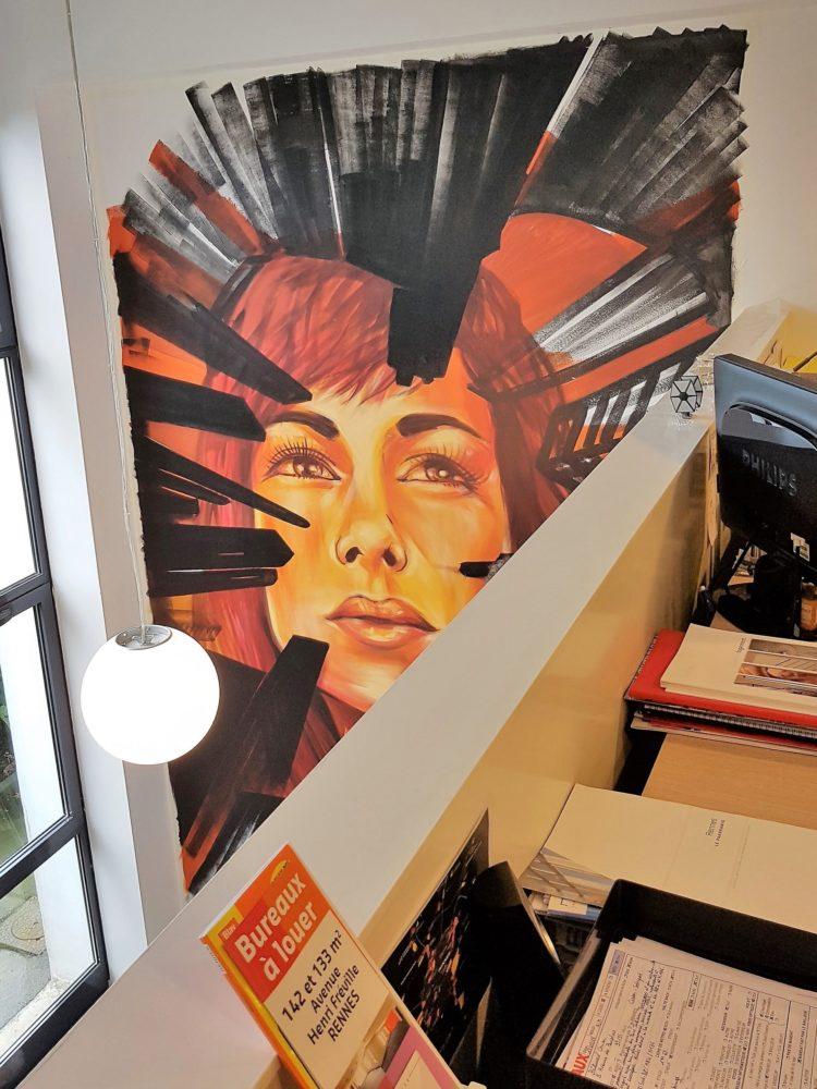 Du Street art au cœur de l'entreprise - Awen Styles